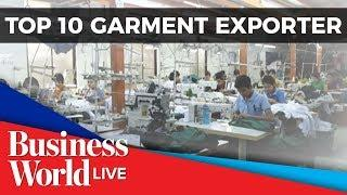 PH aims to be among top 10 garments exporters by 2026