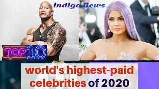 Top 10 world's highest-paid celebrities of 2020