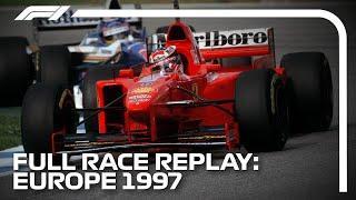 F1 CLASSICS - 1997 European Grand Prix, Full Race Replay