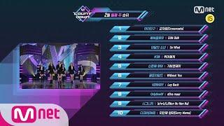 What are the TOP10 Songs in 2nd week of February? M COUNTDOWN 200213 EP.652