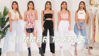 TOP 10 SUMMER FASHION TRENDS 2020 & HOW TO STYLE THEM