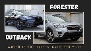 2020 Subaru Forester vs. 2020 Subaru Outback | 10 KEY DIFFERENCES