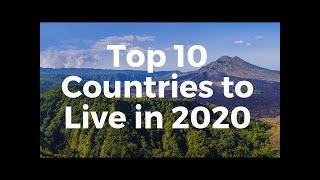 Top 10 Best Foreign Countries To Work & Live  surprise