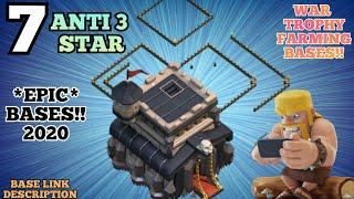 TOP 7 Town Hall 9 (TH9) WAR BASE with Links - Th9 Trophy Push Bases Link - Clash of Clans 2020 - HK9