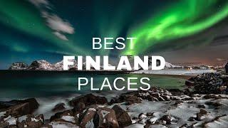 Top 10 Best Places To Visit In FINLAND   World's Happiest Place   Travel Finland