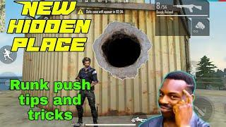 Top 10 free fire hide place rank push tips tips and tricks garena free fire G.kawanthgaming