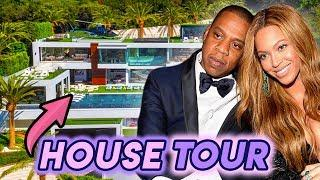 Jay Z and Beyonce | House Tour 2020 | 88 Million Dollar Bel Air Mansion