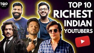 Top 10 Richest Indian Youtubers || CarryMinati || Top 10 Facts ||
