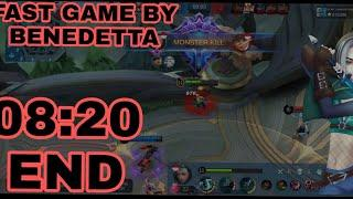 TOP GLOBAL BANEDETTA GAMEPLAY | By IG:WF GaMINGSTORE Mobile legends bang bang