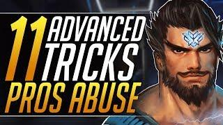 11 ADVANCED Tricks Only PROS ABUSE - Top Tips to RANK UP to Grandmaster | Overwatch Guide