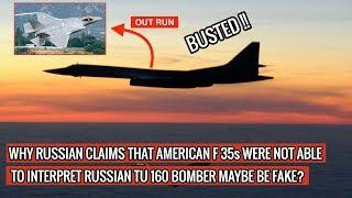 RUSSIAN MEDIA REPORTS OF TU 160 OUTRUNNING F35 SEEMS FAKE ! DEFENSE UPDATES