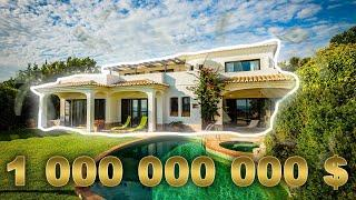 Top 5 Most EXPENSIVE HOMES in the WORLD | A house for 1,000,000,000 Dollars !