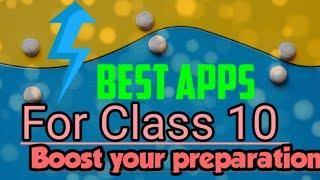 Best study apps for students/mainly for class 10 board. Top online/offline study apps.