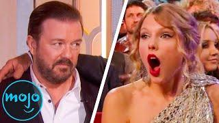 Top 10 Times Celebrities Got Embarrassed at Award Shows