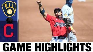 Shane Bieber K's 10 in Indians' 4-1 win | Brewers-Indians Game Highlights 9/6/20