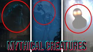 Top 10 GIANT Mythical CREATURES Caught On CAMERA..!
