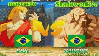 Street Fighter Alpha 2 - marverde vs Shadowonlive