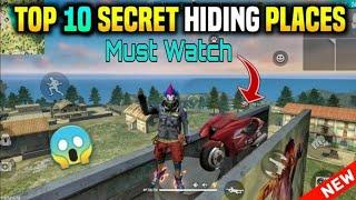 Free Fire Top 10 place to Push ranked map || Top 10 Loot place || Top 10 Op Player Place