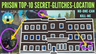 Prison Top-10 Secret Glitches Location | Pubg Mobile Hidden Place In Prison