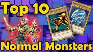 Top 10 Best Normal Monsters in YuGiOh