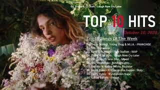 Top 10 Songs Of The Week October 10, 2020 - Billboard Hot 100 Top 10 Singles
