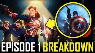 Marvel WHAT IF Episode 1 Breakdown & Ending Explained Review   MCU Easter Eggs & Things You Missed