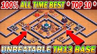 2021 All Time Best TOP 10 TH13 Legend Base + Link ( 2021 ) | Unbeatable