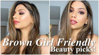 Winter/Cold Weather Makeup Tutorial for BROWN SKIN!