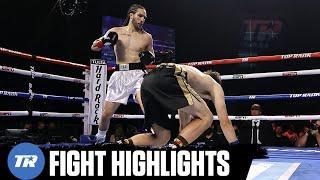 Nico Ali Walsh, Grandson of Muhammad Ali Scores Highlight Reel KO In Pro Debut | FIGHT HIGHLIGHT