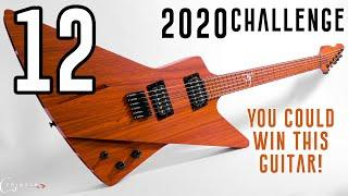 12) Did I beat the Clock? - I Build a UNIQUE Crowd Designed Hollow Multi-Scale Guitar in 20 hours!