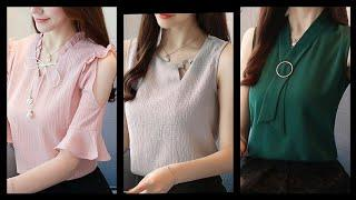Top Classy Office wear blouse designs / ideas for business and working ladies