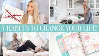 7 NEW HABITS TO CHANGE YOUR LIFE IN 2020!