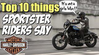 Top 10 things every Harley Sportster guy says