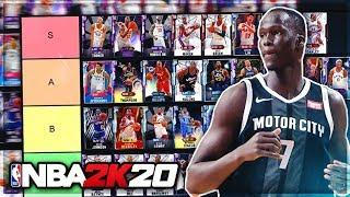 RANKING THE BEST BUDGET PLAYERS IN NBA 2K20 MyTEAM!! (Tier List)