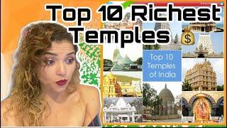 MEXICAN Girl reacts to Top 10 Richest Temples of India