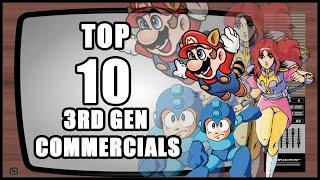 Top 10 3rd Generation Video Game Commercials (Famicom, NES, Sega Master System)