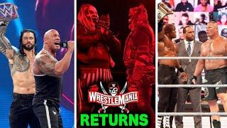 Every Return Leaked For WWE WrestleMania 37 - The Fiend Bray Wyatt & Brock Lesnar Return