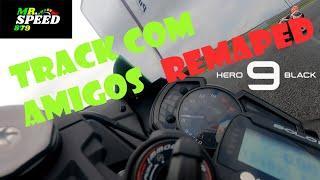 TRACK COM AMIGOS - ACELERANDO TUDO - ZX6R 636 - REMAP TOP - GOPRO HERO9 BLACK