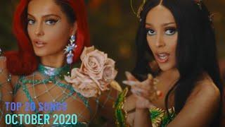 Top 20 Songs: October 2020 (10/24/2020) I Best Billboard Music Chart Hits