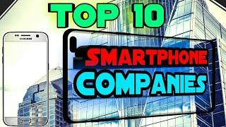 Top 10 smartphone companies in the world