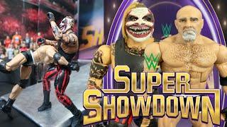 The Fiend Bray Wyatt vs Goldberg WWE Super Showdown WWE Action Figure Match