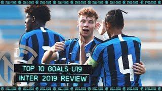 INTER PRIMAVERA U-19 TOP 10 GOALS | 2019 REVIEW feat. Esposito, Oristanio, Schirò, Persyn... ⚽⚫