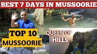 Mussoorie Tourist Places | Dhanaulti Tour Plan |Top 10 Things To Do |Mussoorie Travel Guide mashhapp