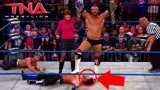 TNA's BURIAL Of AJ Styles - AJ Styles' Final TNA Match Was AWFUL