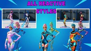 EVERY PARTY STYLE OUTFIT REACTIVE GAMEPLAY | Party Diva, Party Star & Party MVP Style Overview