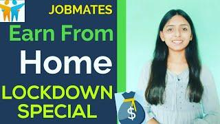 Work from home opportunities   Best tips for earning Money (Top 10 online jobs)   
