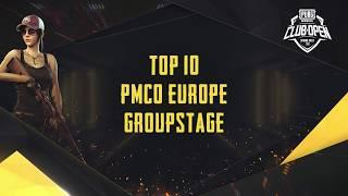 [TOP 10] PMCO Europe Group Stage | Spring Split | PUBG MOBILE CLUB OPEN 2020