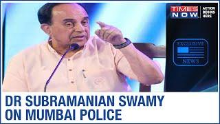 BJP MP Subramanian Swamy raises doubts over Mumbai Police' probe in Sushant Singh Rajput death case