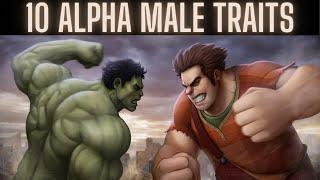 Top 10 Alpha Male Traits | Signs You're a Alpha Male