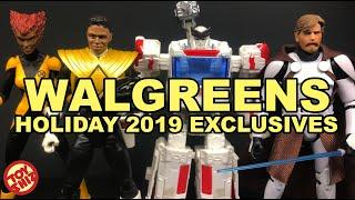Hasbro x Walgreens Holiday 2019 Action Figure Exclusives